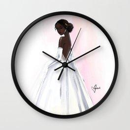 Debutante Wall Clock