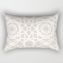 Palm Springs Macrame Lattice Lace Rectangular Pillow