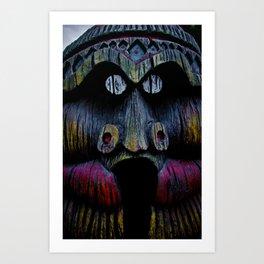 Tiki Dude Art Print