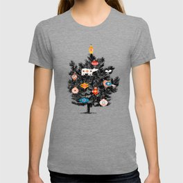 Retro Christmas tree no3 T-shirt