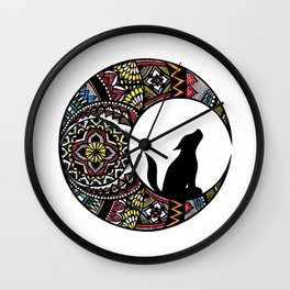 Colorful Howl Wall Clock