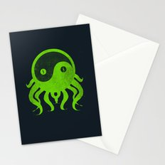 yin yang cthulu Stationery Cards