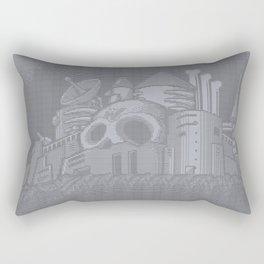 ASCII WILY CASTLE MM2 Rectangular Pillow
