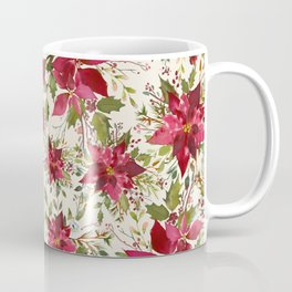 POINSETTIA - FLOWER OF THE HOLY NIGHT Coffee Mug