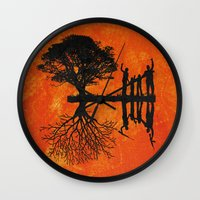 family Wall Clocks featuring Family by Last Call