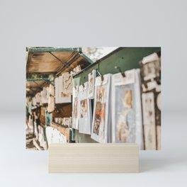 Street art of Paris   iconic travel photography to inspire   travel photography wall art   Saige Ashton Prints Mini Art Print
