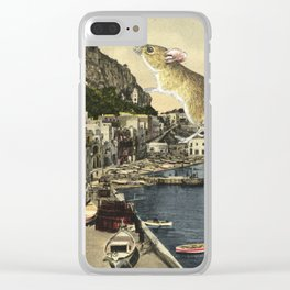 All that's bewitching by the water Clear iPhone Case
