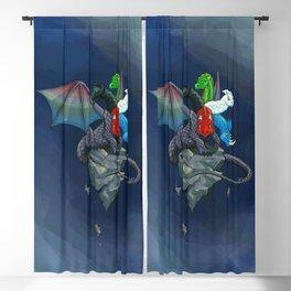 Tiamat the Five-Headed Dragon Blackout Curtain