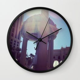 Caesar, your palace is lovely  Wall Clock