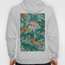 Bird of Paradise Hawaii Rainforest Hoody