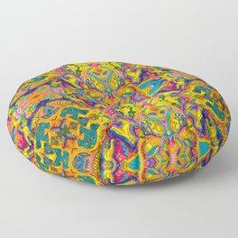 Egyptian Kitties Floor Pillow