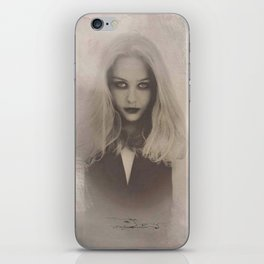 """""""tears that became blood"""" iPhone Skin"""