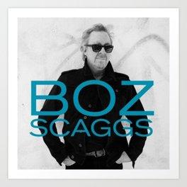 NEW BOZ SCAGGS TOUR 2019 RATUGONTOR Art Print