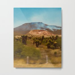 Up town mountain Metal Print