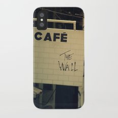Cafe The Wall Slim Case iPhone X