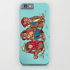 Three Wise Hipster Monkeys iPhone 6s Slim Case