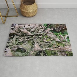 Life on a Fallen Tree Rug