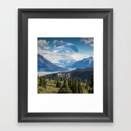 Alien Nature Framed Art Print