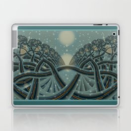 Celtic Winter Forest Laptop & iPad Skin