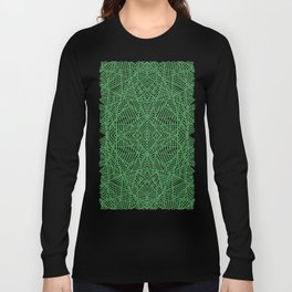 Ab Lace Green Long Sleeve T-shirt