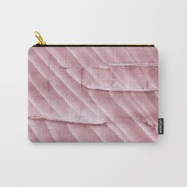 Rosy brown clouded watercolor pattern Carry-All Pouch