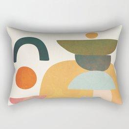 Modern Abstract Art 70 Rectangular Pillow