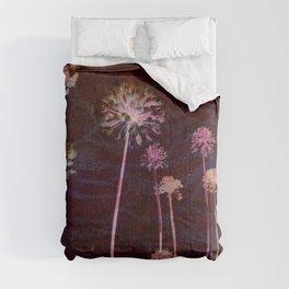day glo: cosmic florals Comforters