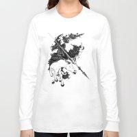 war Long Sleeve T-shirts featuring War by emychaoschildren