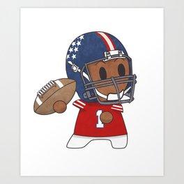American Football II Art Print