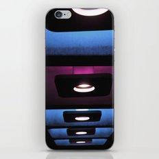 blue, blue, blue, pink, blue... iPhone & iPod Skin