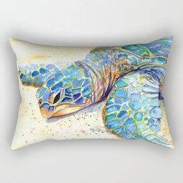 Turtle at Poipu Beach 4 Rectangular Pillow