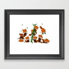 PandaMania Framed Art Print