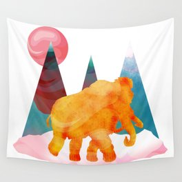 Mammoth Mountains Wall Tapestry