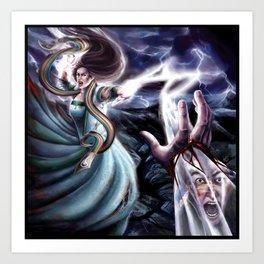 The Flame of Tar Valon Art Print