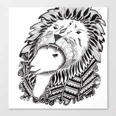 Who is the Lion? Canvas Print