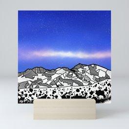 Mount Snowdon Wales Mini Art Print