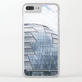 London City Hall Clear iPhone Case