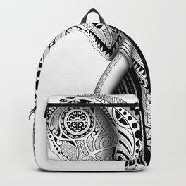 White Elefunk Backpack