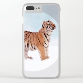 Save the Tiger - Endangered Species 9 Clear iPhone Case