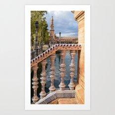 Plaza de Espada Art Print