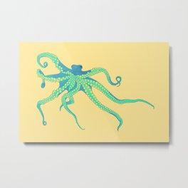 Bodacious Octopus Metal Print