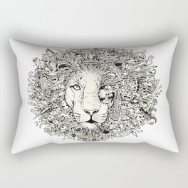 The King's Awakening Rectangular Pillow