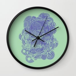 Retrograde Wall Clock