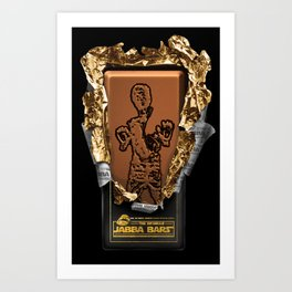 Jabba Bars Art Print