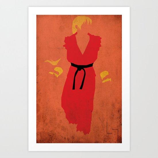 Ken Art Print
