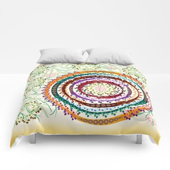Dense Jungle Comforters