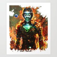 dead space Art Prints featuring dead space by ururuty