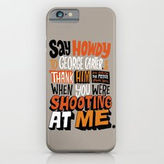 Shooting At Me Slim Case iPhone 6s