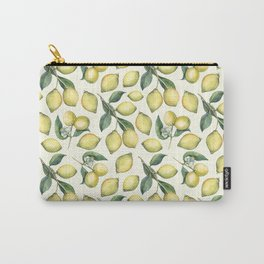 Lemon Pattern Carry-All Pouch