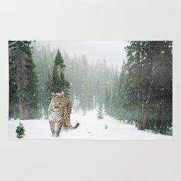 Persian leopard Rug